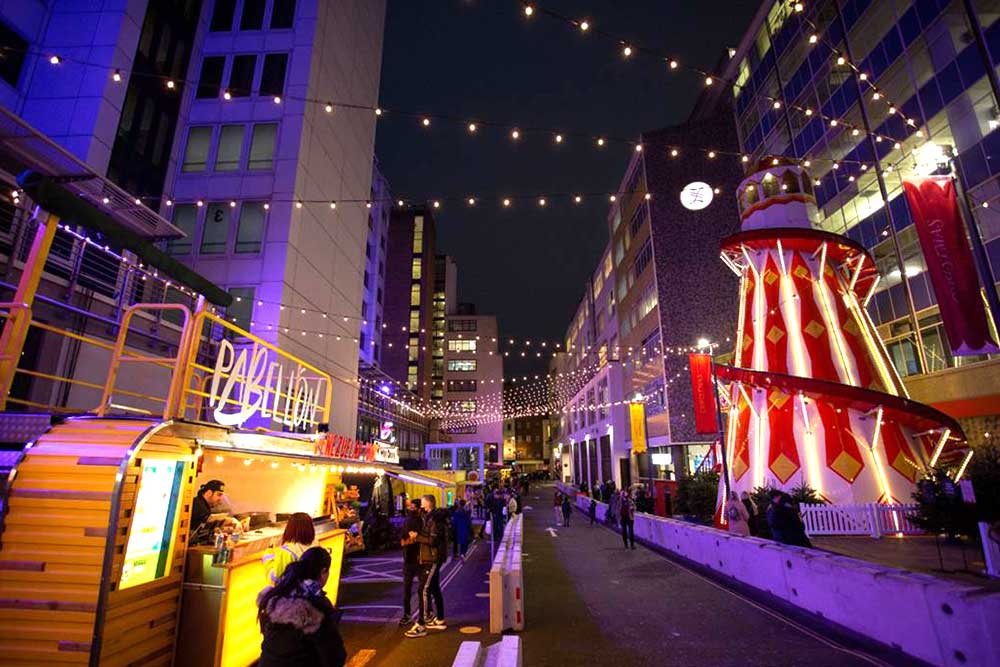 selfridges christmas market