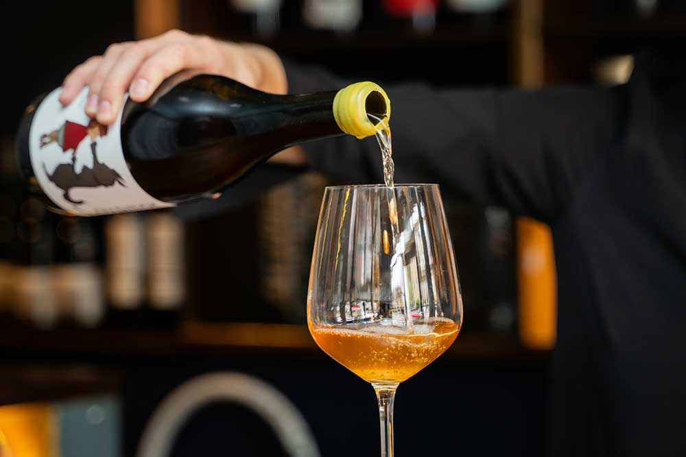 silver lining will be hackney's first orange wine bar