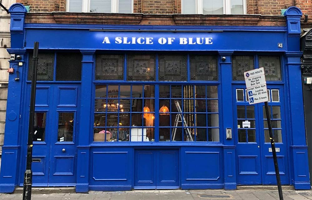 Santa Maria opens A Slice of Blue pizza pub in Clapton