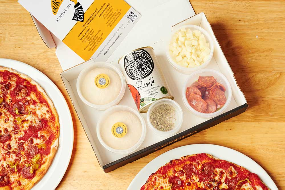 pizza express diy delivery kits