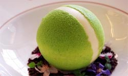 A tennis ball bombe from 34