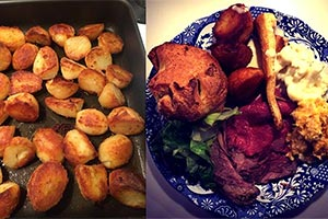 Sunday Lunch cooked in your house by Drapers Arms