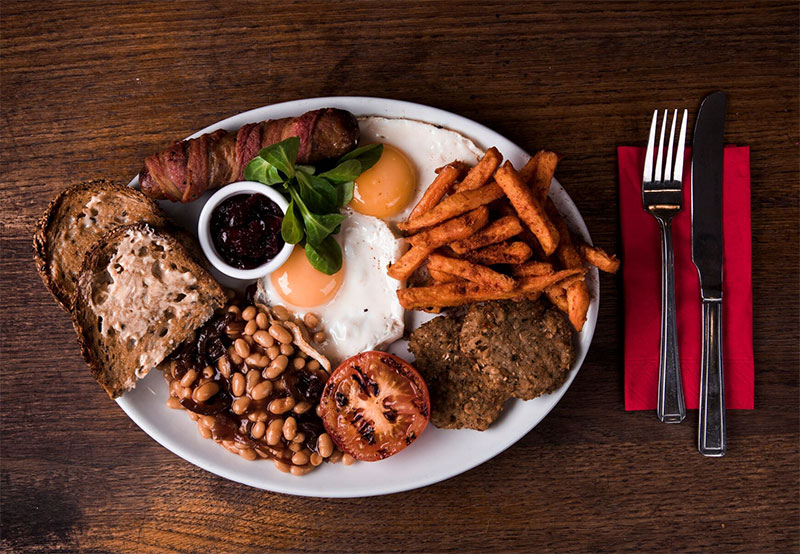 Christmas breakfast all day long with Polo Bar