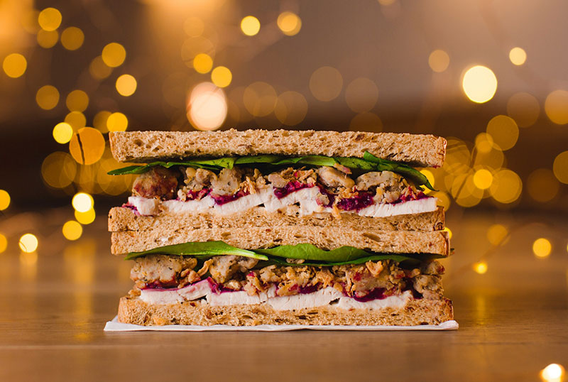 The Pret Christmas sandwich is revealed
