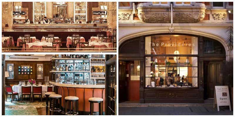 best regulars restaurants in london