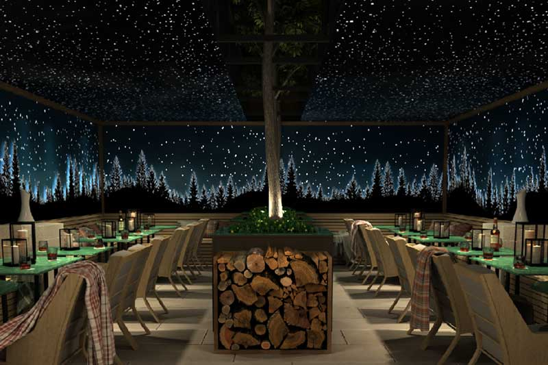 rosewood winter terrace london