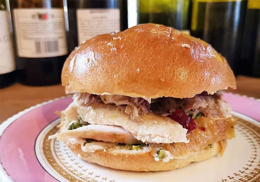 london's best christmas sandwiches