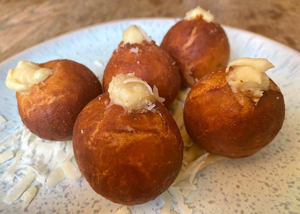 Cheese Doughnuts - from Adam Handling