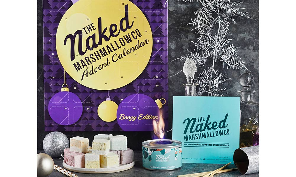 Boozy marshmallows from Naken Marshmallow co