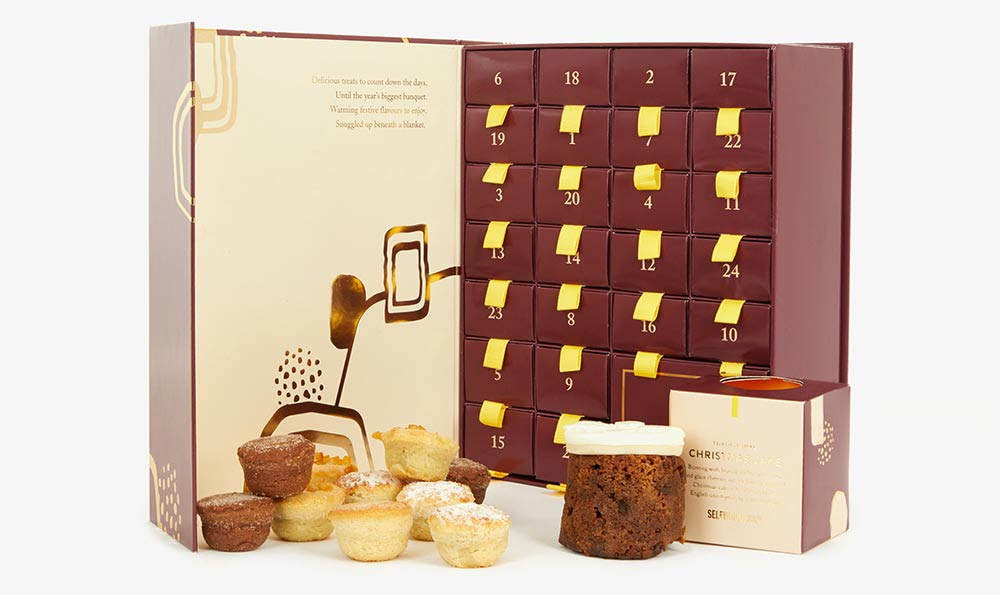 Selfridges Mince pie calendar