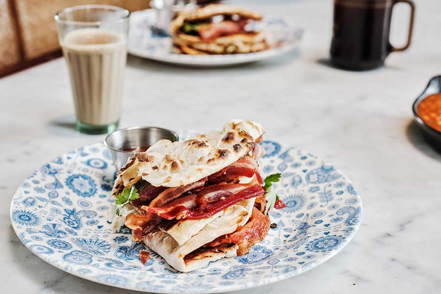 dishoom bacon naan