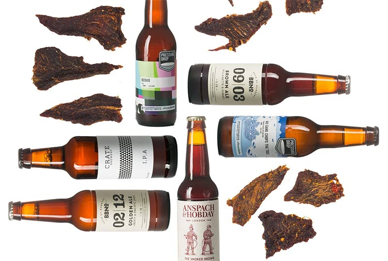 Craved Beer and Jerky