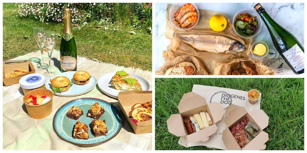 london's best picnics being delivered