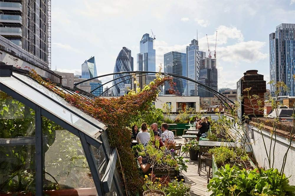 London's best rooftop dining and drinking