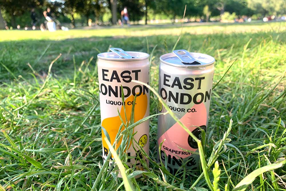 Punchy rum & ginger -  East London Liquor Company