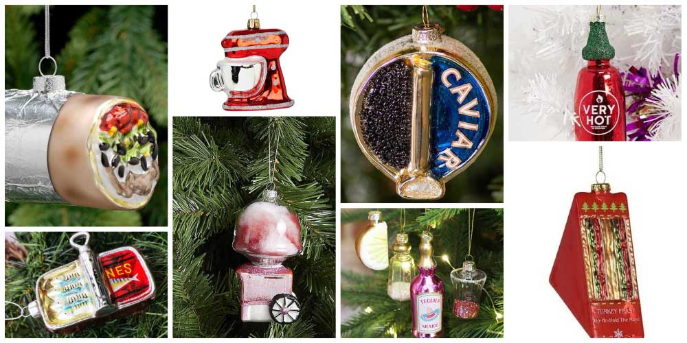 Best food and drink Christmas tree decorations and baubles