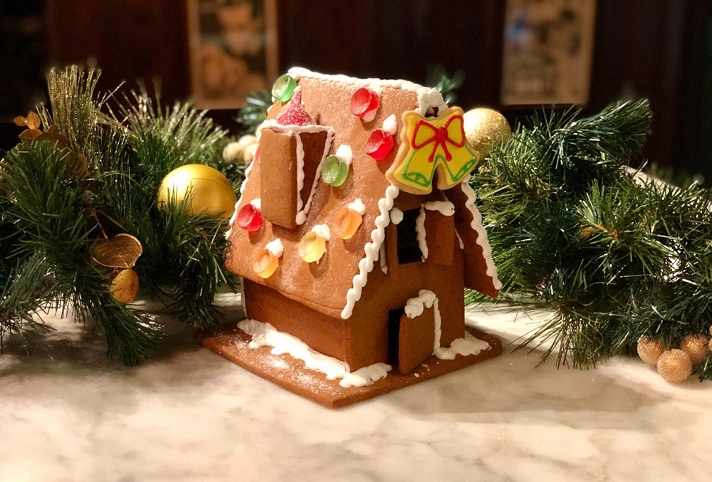 Gingerbread houses from Corbin and King