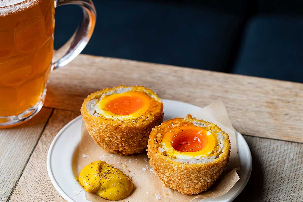 Bull and Last recipe - scotch eggs