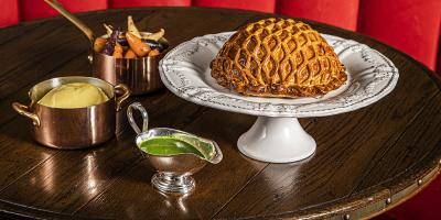Rosewood London are delivering Calum Franklin pies from Holborn Dining Room