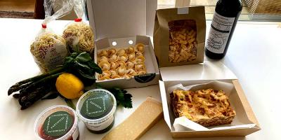 Test Driving Cafe Murano delivery - Angela Hartnett's pasta-to-go service