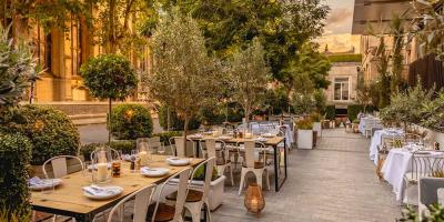 The Berkeley unveil The Garden restaurant - an alfresco haven in Knightsbridge