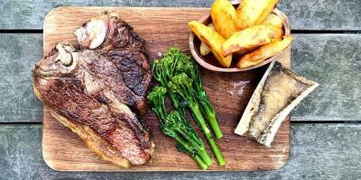 Test Driving the Hawksmoor At Home box - delivering the essence of a steakhouse dinner to your door