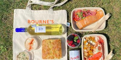 Get 20% off a Bourne's picnic hamper - perfect for Hampstead Heath picnics