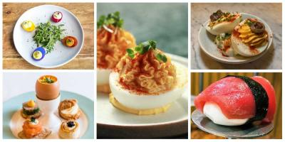 Where to get devilled eggs in London right now
