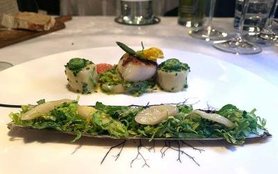 Test Driving Pied a Terre - classic Michelin-star dining keeping it fresh in Fitzrovia