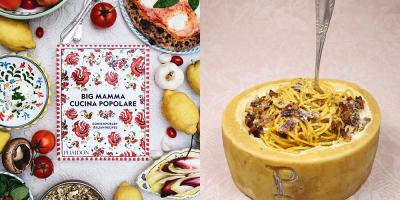 Win a whole Pecorino cheese wheel and a Big Mamma cookbook