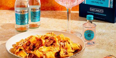 Get a free Malfy Gin & Tonic kit with your first Pasta Evangelists order