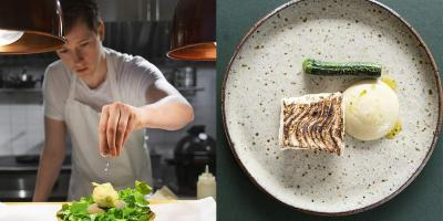 Try Wildflower by 28-year-old Irish celebrity chef, Adrian Martin, with a free bottle of wine