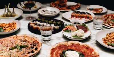 Enjoy unlimited pizza at Mayfair's Bocconcino for just £20