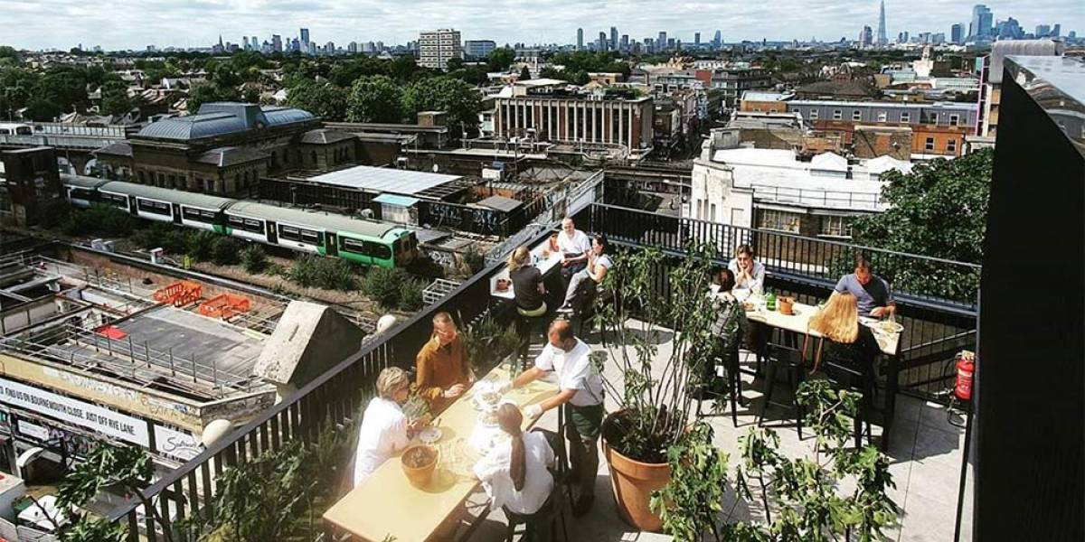 London's best rooftop bars and restaurants