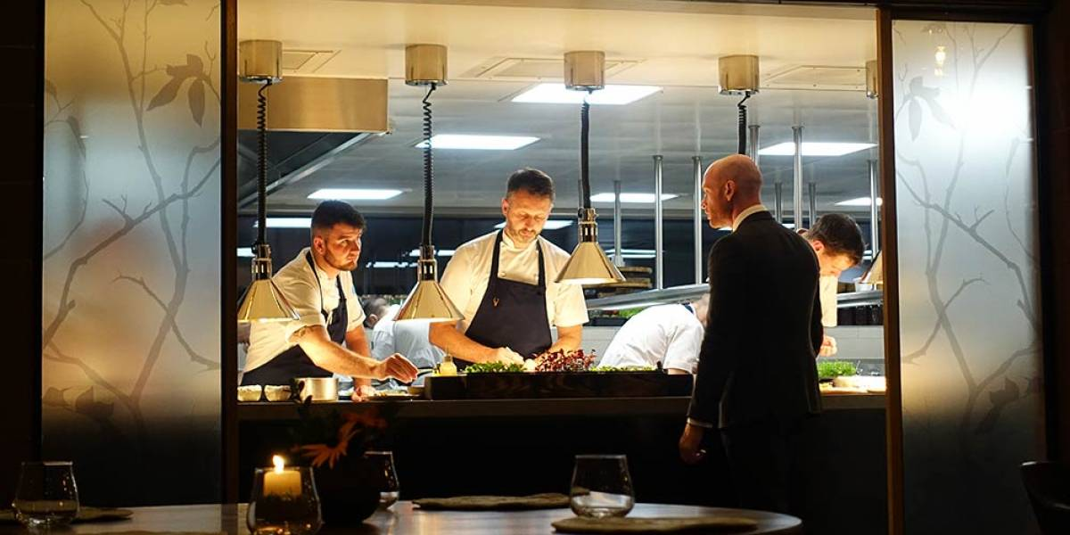 Checking into the award-winning Moor Hall - an extraordinary restaurant with rooms