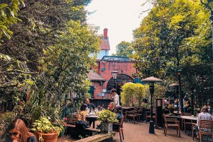 London's best pub gardens for foodies