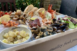 The best fish and seafood delivered in London