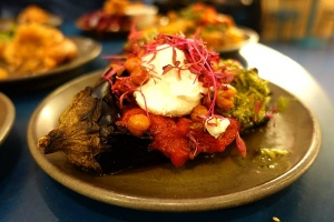Test Driving The Good Egg in Soho - a Middle Eastern addition to Kingly Court