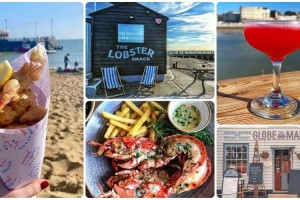 Seaside towns near London and where to eat when you get there